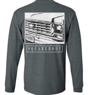 70s Round Eye Square Body Squarebody Long Sleeve T-Shirt