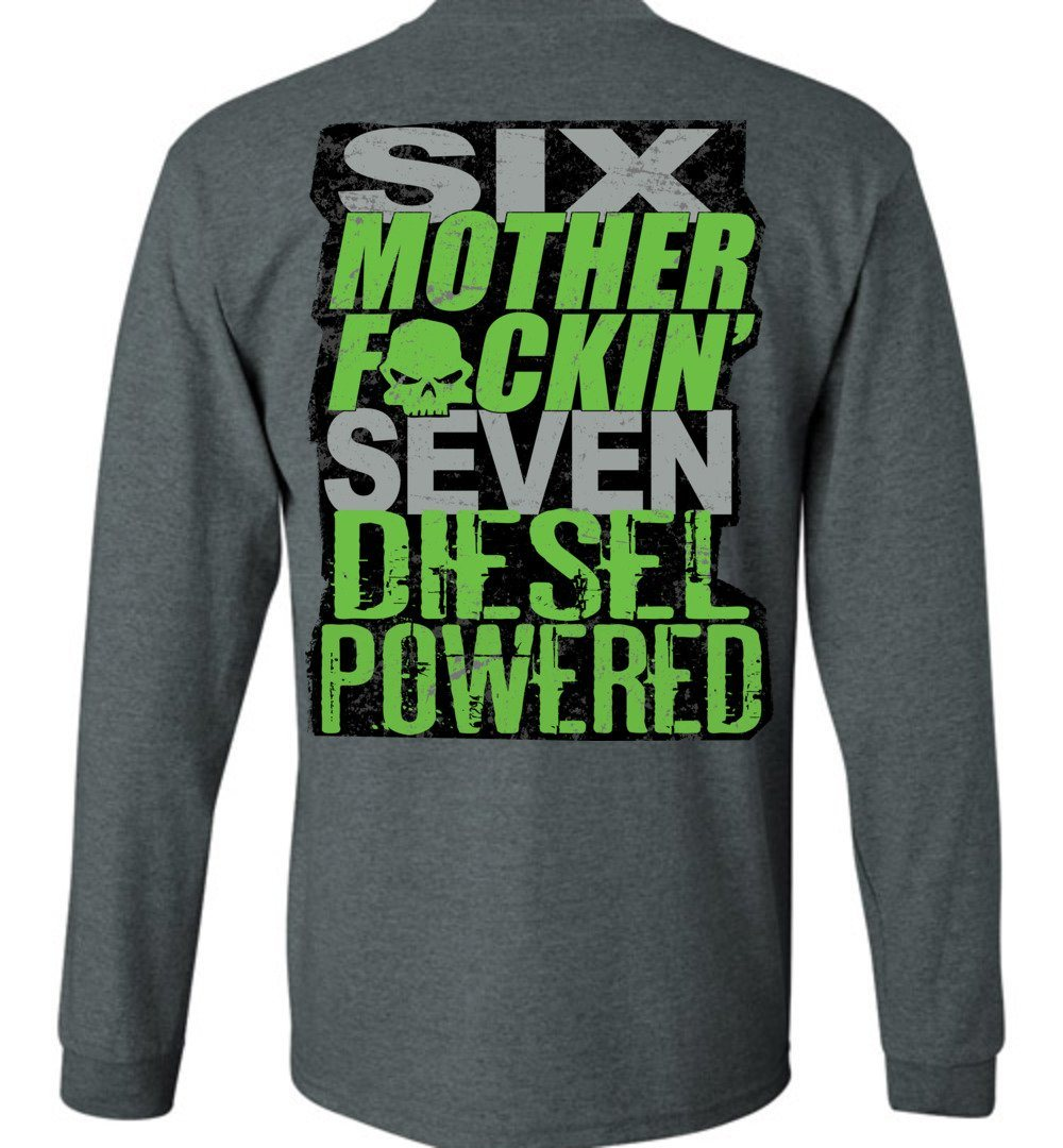 6.7 cummins Diesel Truck Power Stroke Shirt | Aggressive Thread Truck Apparel