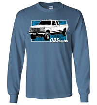 OBS Ford F250 Extended Cab 4X4 Long Sleeve T-Shirt