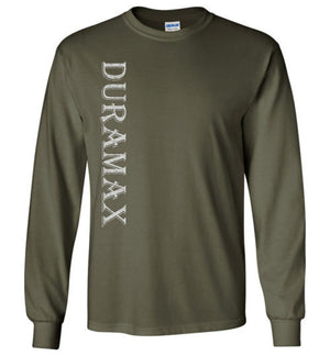 Green Duramax LB7 Diesel Truck Shirt from Aggressive Thread