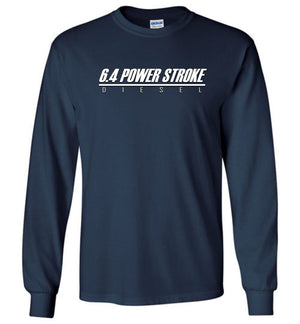 6.4 Power Stroke | Powerstroke Diesel T-Shirt | Aggressive Thread Truck Apparel