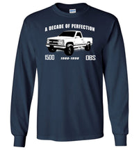 OBS 1500 Long Sleeve T-Shirt - Aggressive Thread Diesel Truck T-Shirts