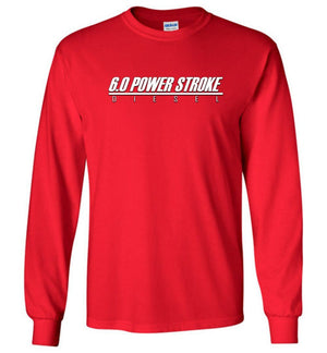 6.0 Power Stroke Shirt | Powerstroke Shirt | Aggressive Thread Diesel Truck Apparel