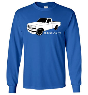 OBS Single Cab F150 T-Shirt - Aggressive Thread Diesel Truck T-Shirts