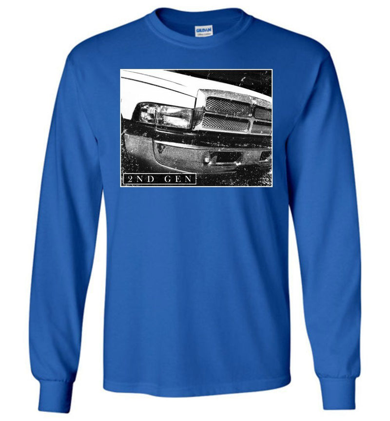 Cummins T-Shirt | 2nd Gen Dodge Ram Cummins | Aggressive Thread Diesel Truck Apparel