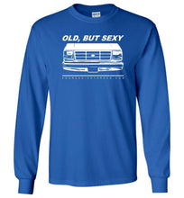 Ford OBS Old But Sexy Long Sleeve T-Shirt - Aggressive Thread Diesel Truck T-Shirts