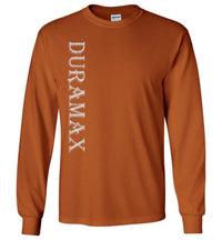 Orange Duramax LBZ Diesel Truck Shirt from Aggressive Thread