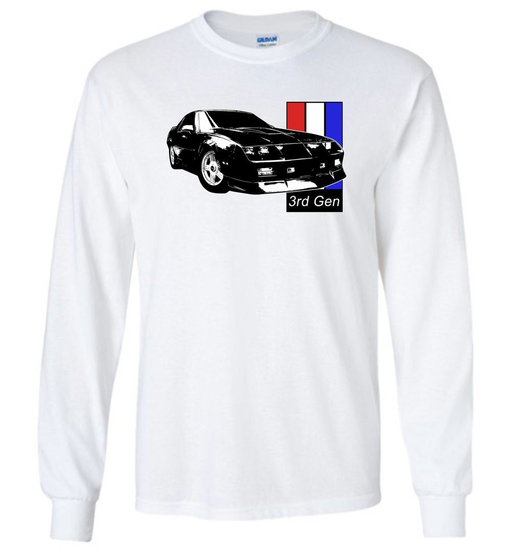 3rd Gen Camaro | Chevy Camaro Shirt | Aggressive Thread Muscle Car Apparel