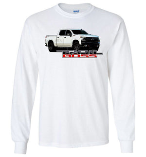 Trail Boss Chevy Truck Long Sleeve T-Shirt