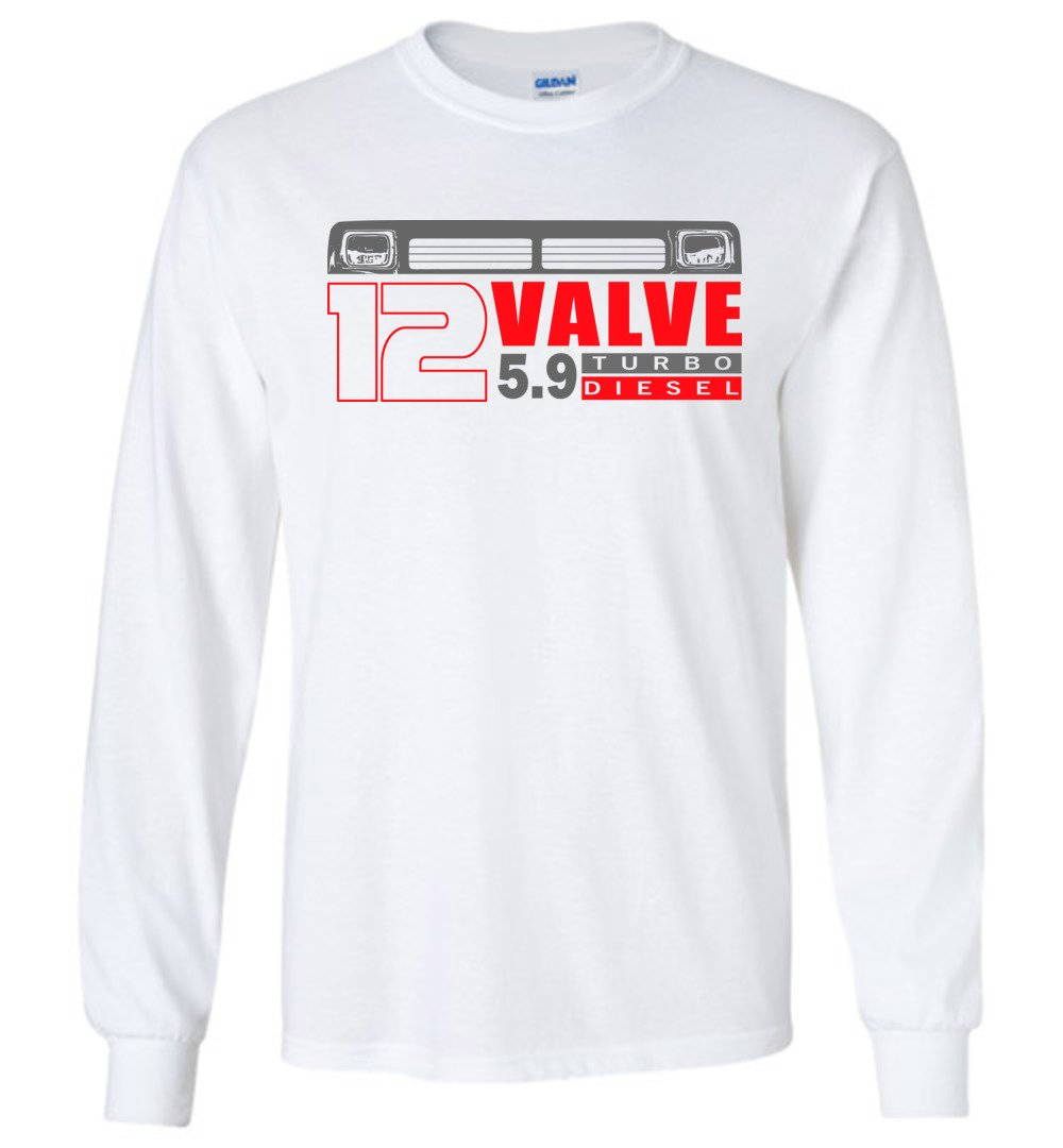 First Gen Long Sleeve T-Shirt - 12 Valve Diesel Truck v2