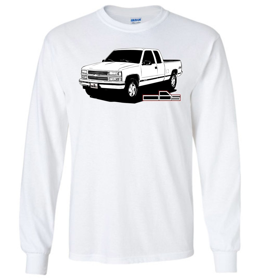 OBS Chevy Truck T-Shirt | Chevy Logo | Aggressive Thread Truck Apparel