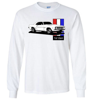 1969 Camaro T-Shirt | Aggressive Thread Muscle Car Apparel