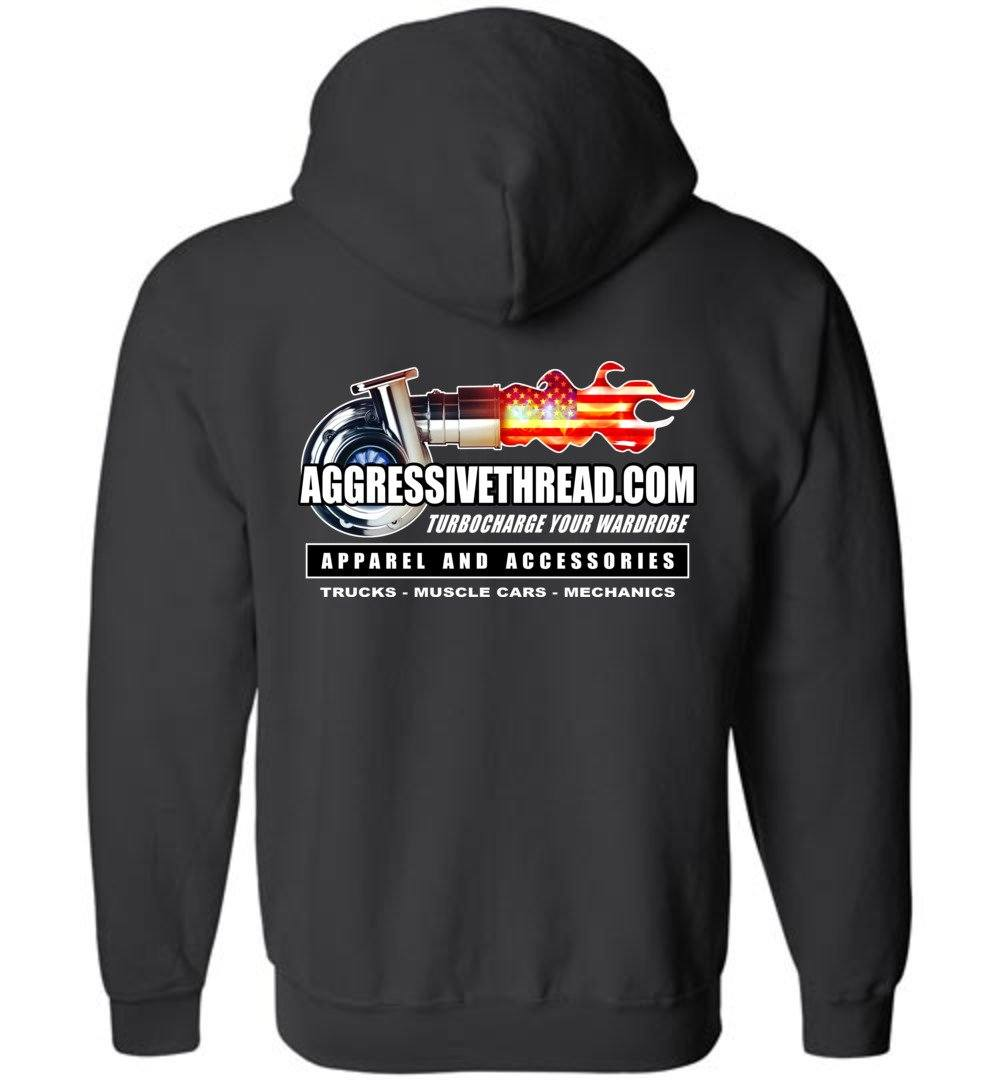 Aggressive Thread 2019 Promo Wear Zip-Up Hoodie