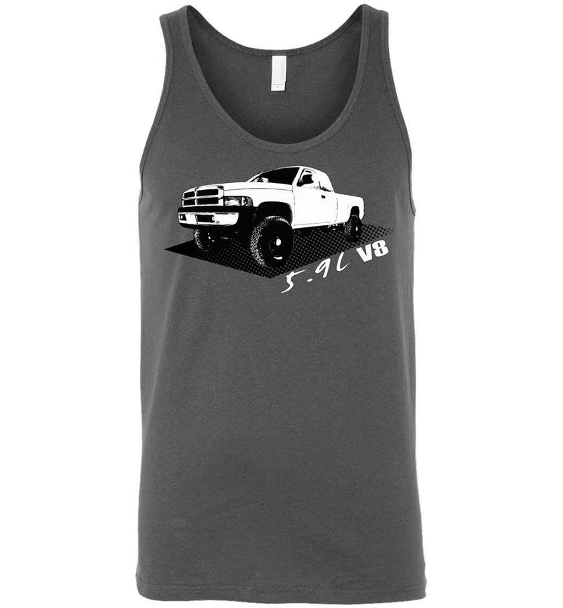 2nd Gen Dodge Ram T-Shirt | Aggressive Thread Truck Apparel