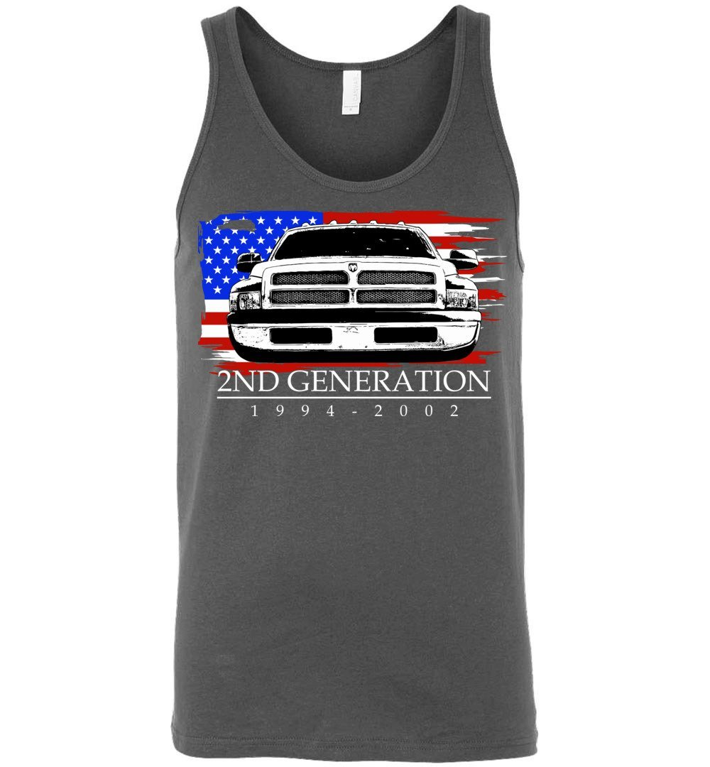 94-02 Dodge Ram Truck Tank Top | Aggressive Thread Diesel Truck Apparel Designs