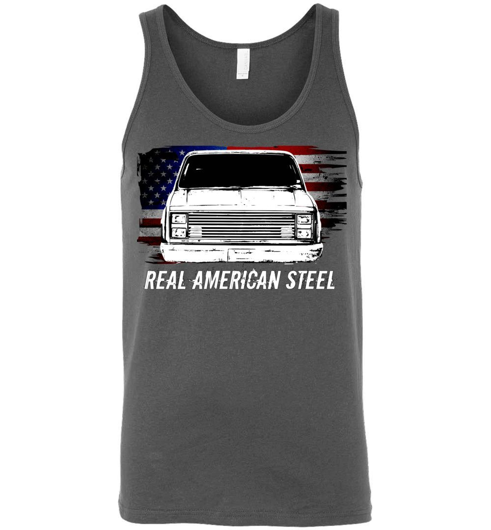 Squarebody Tank Top | Square Body T-shirt | Aggressive Thread Diesel Truck Apparel