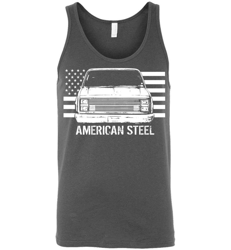 Square Body American Steel Tank Top