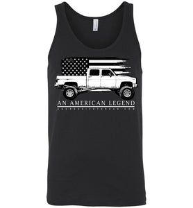 Crew Cab Square Body Chevy American Legend Tank Top Shirt