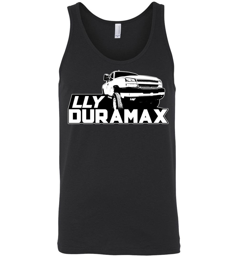Duramax Tank Top Shirt | LLY Duramax  | Aggressive Thread Diesel Truck Apparel