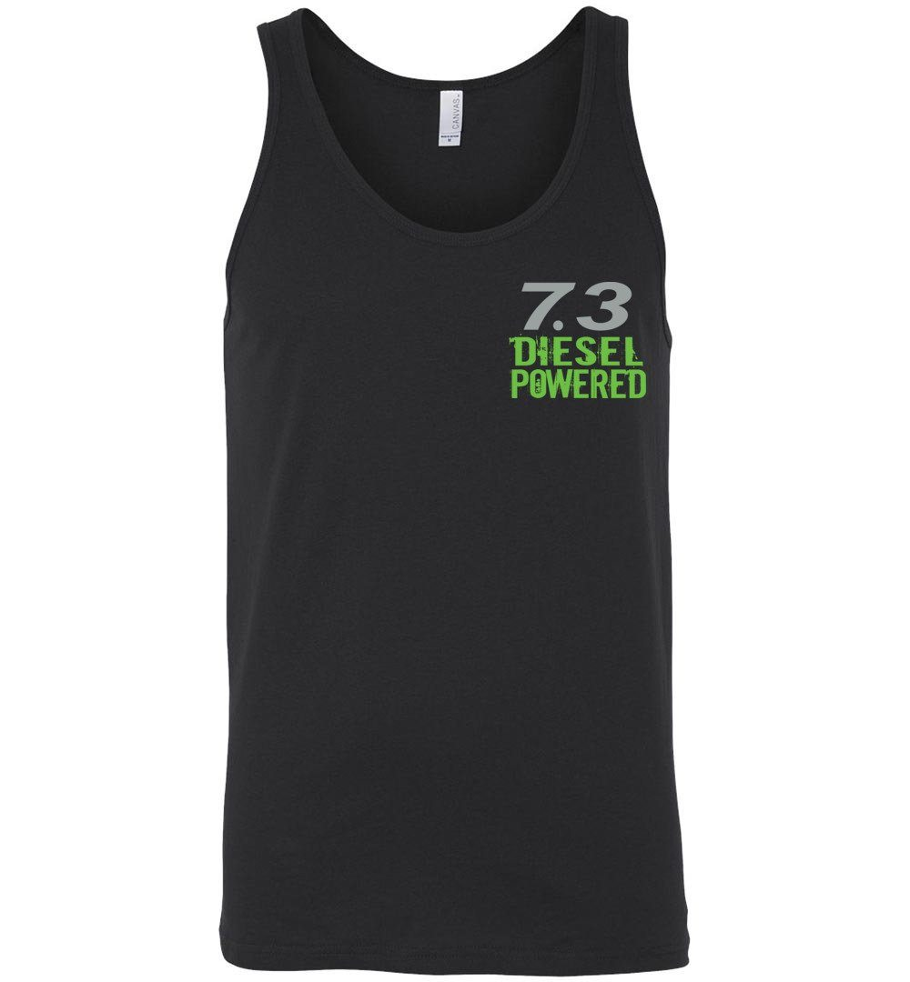 7.3 Seven MF'N Three Tank Top - Aggressive Thread Diesel Truck T-Shirts