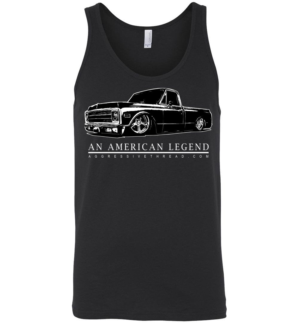 70-72 Chevy C10 Truck Tank Top Shirt | Aggressive Thread Truck Apparel