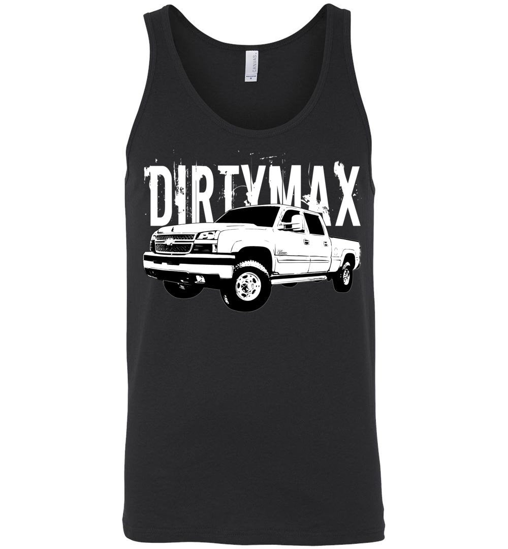 Dirtymax 06 Duramax Tank Top - Aggressive Thread Diesel Truck T-Shirts