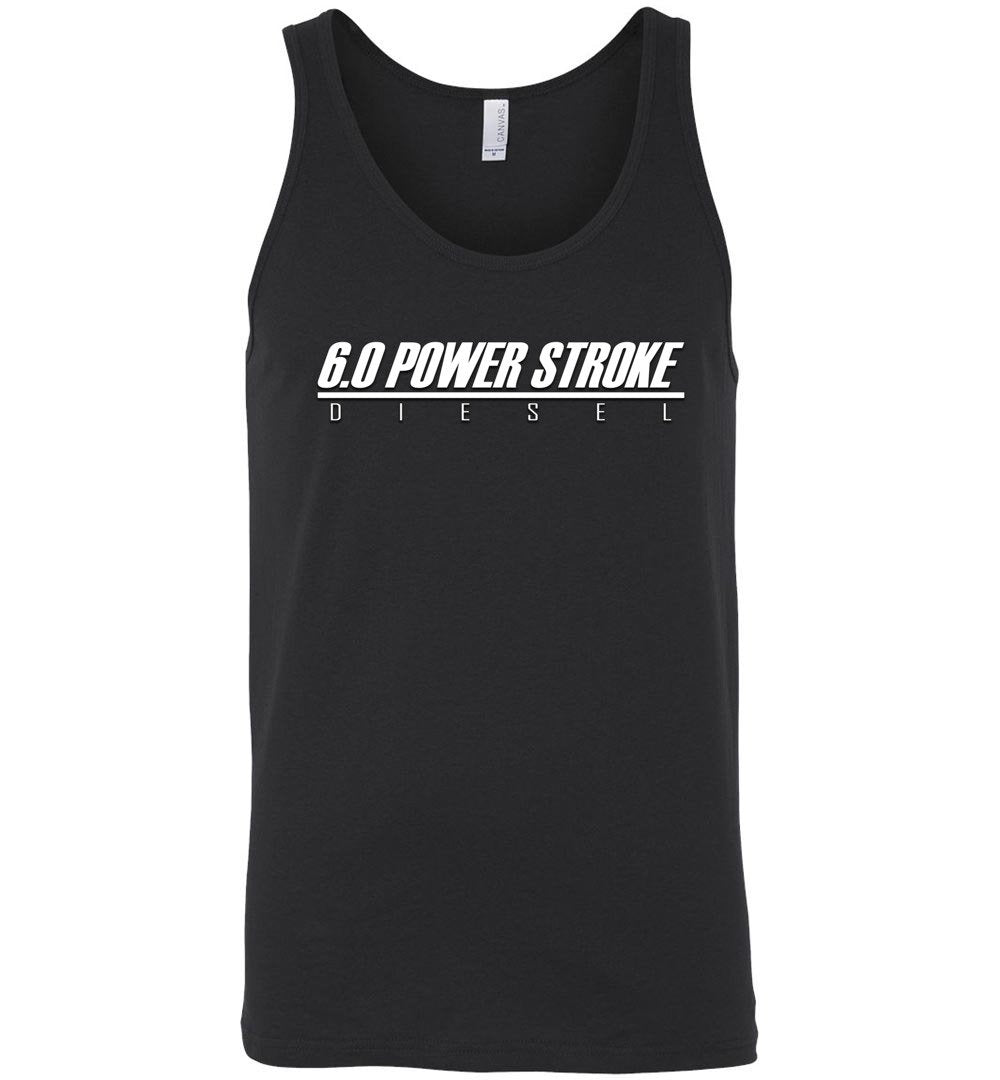 6.0 Power Stroke Shirt | Powerstroke Tank Top | Aggressive Thread Diesel Truck Apparel