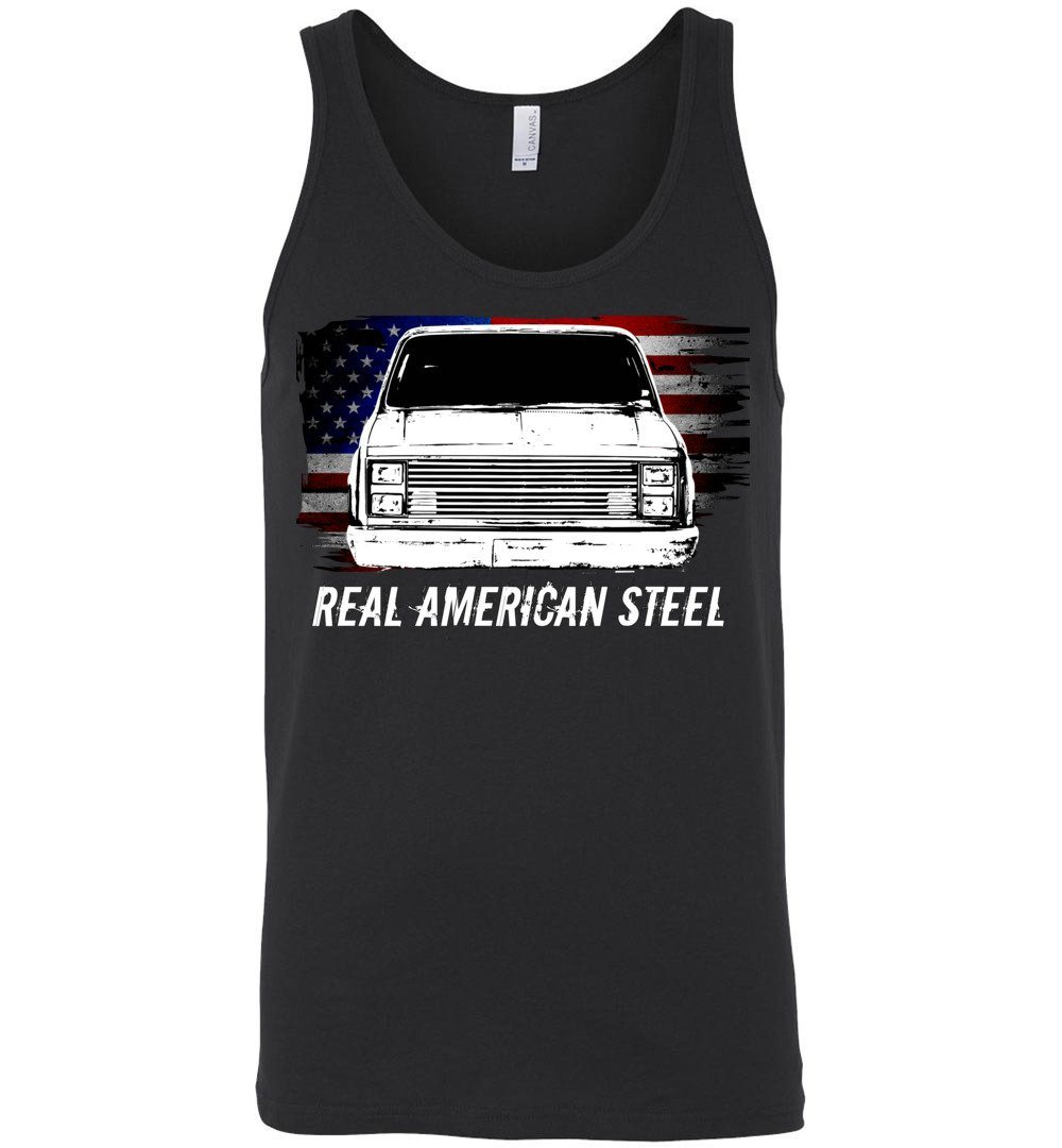 Squarebody Tank Top | Square Body Shirt | Aggressive Thread Diesel Truck Apparel