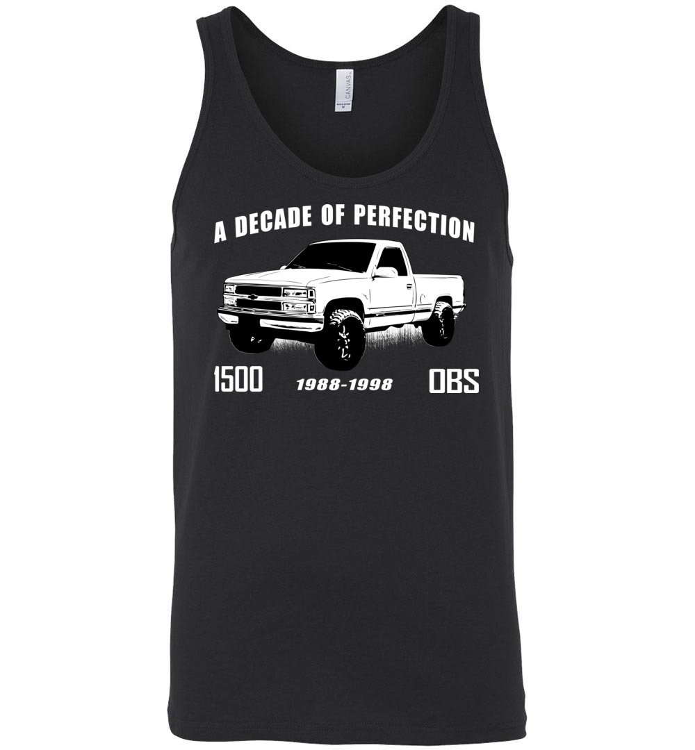 OBS 1500 Tank Top - Aggressive Thread Diesel Truck T-Shirts