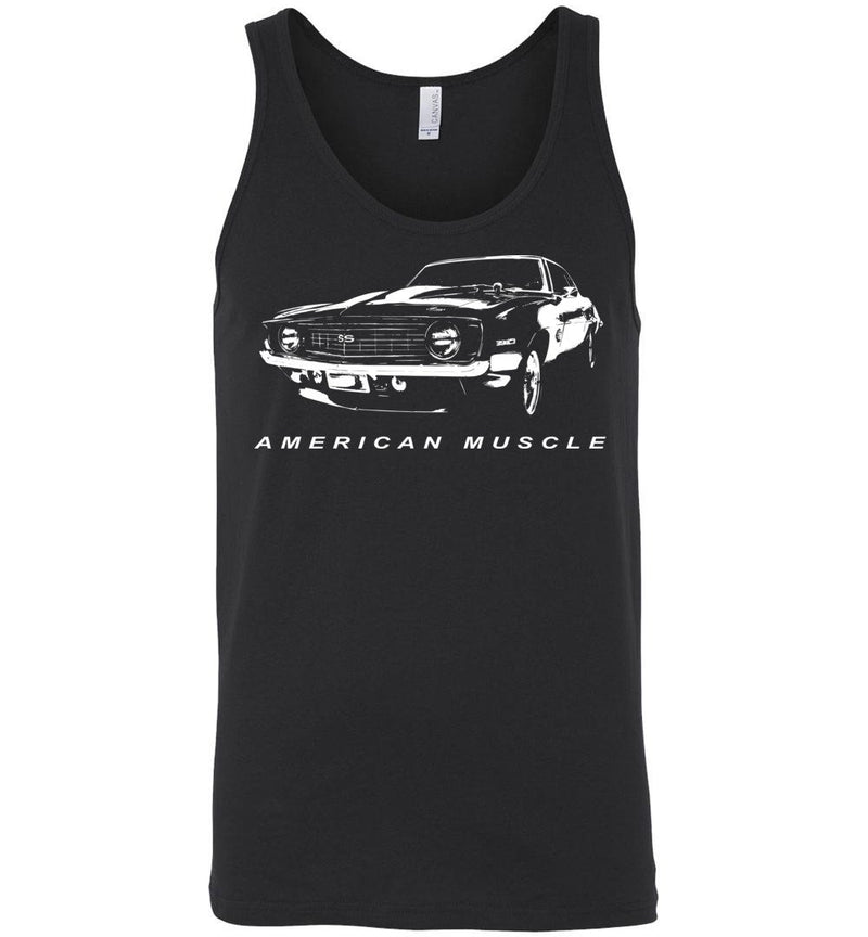 1969 Chevrolet Camaro Tank Top Shirt From Aggressive Thread