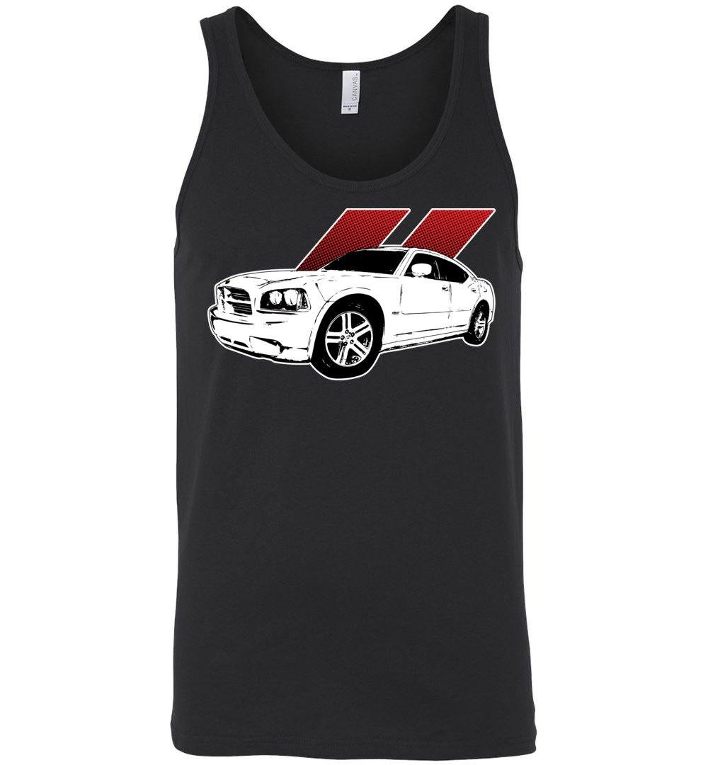 05-2010 Dodge Charger | LX Dodge Charger T-Shirt | Tank Top | Aggressive Thread Muscle Car Apparel