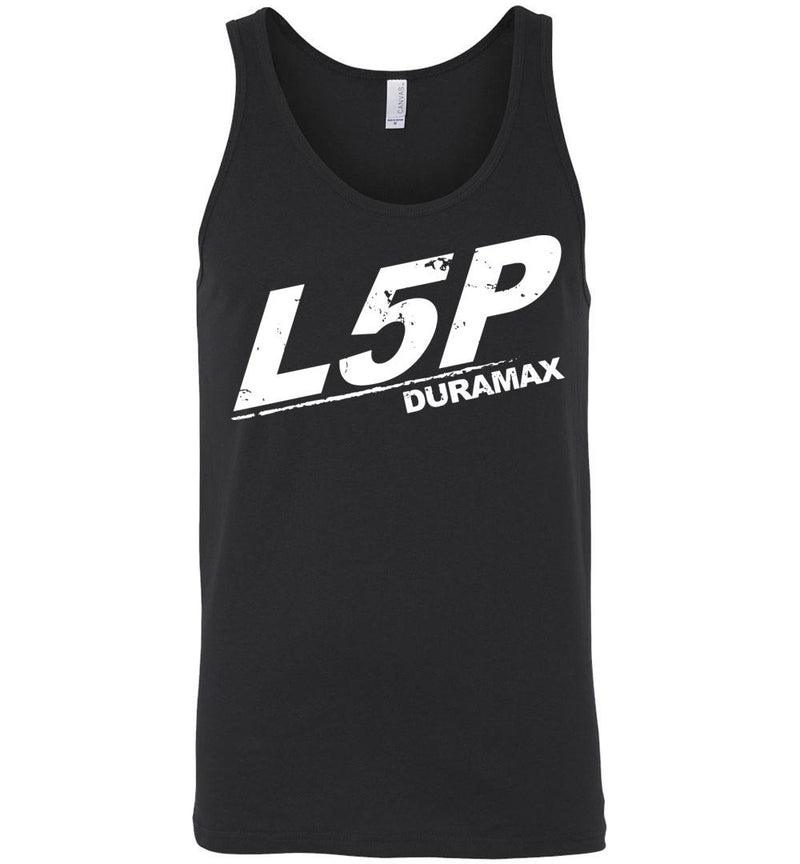 L5P Duramax Burning Diesel Tank Top
