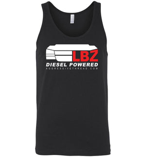 Duramax LBZ With Grille Tank Top - Aggressive Thread Diesel Truck T-Shirts