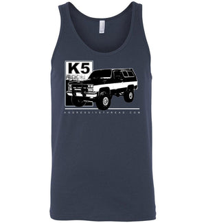 Square Body K5 Blazer Tank Top