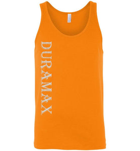Aggressive Thread LBZ Duramax Orange Tank Top Diesel Truck Apparel