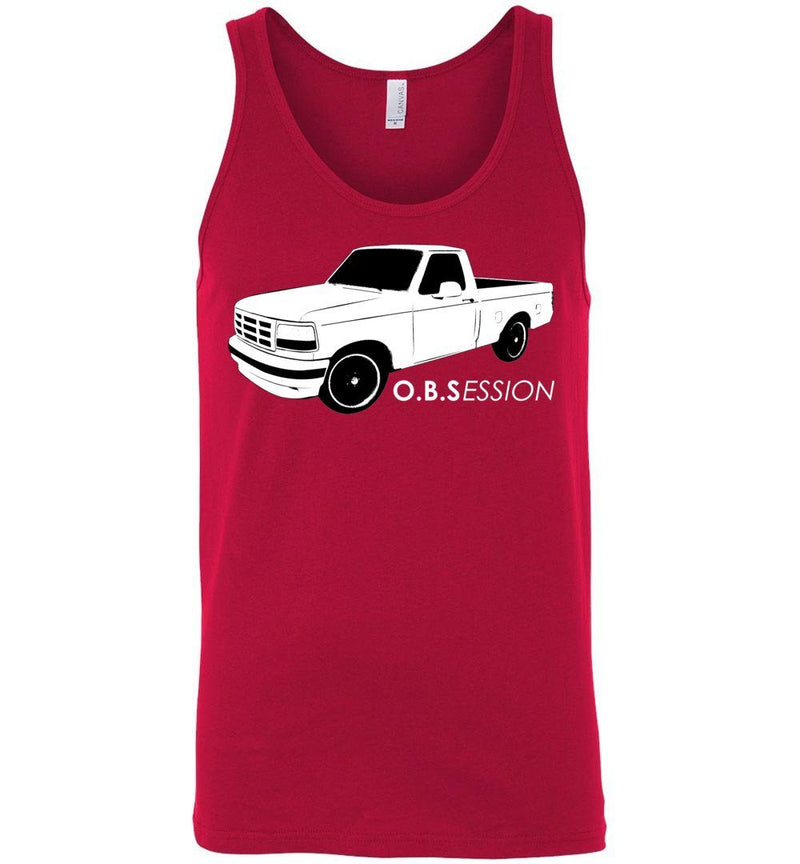 OBS Single Cab F150 Tank Top - Aggressive Thread Diesel Truck T-Shirts