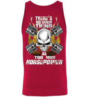 Tank Top For Gearheads, Muscle Car enthusiasts, Hot Rod owners, Diesel Truck Drivers | Aggressive Thread High Performance Apparel