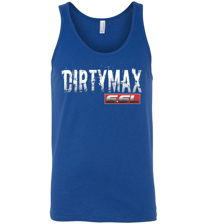 Dirtymax Duramax 6.6l Tank Top - Aggressive Thread Diesel Truck T-Shirts