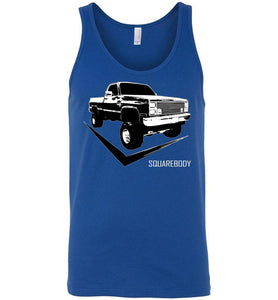 Square Body 80's Truck Tank Top