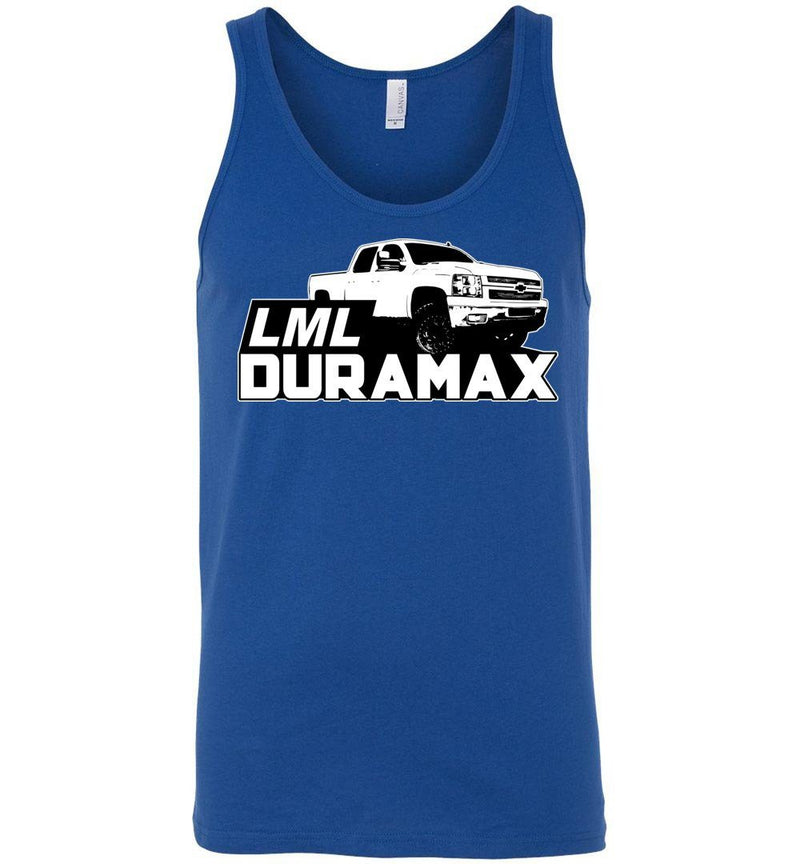 Duramax Tank Top Shirt | LML Duramax  | Aggressive Thread Diesel Truck Apparel