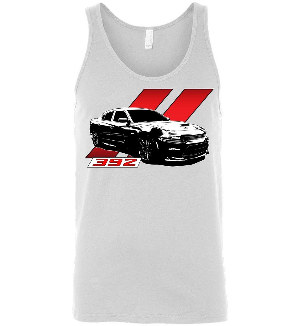 Dodge Charger 392 Tank Top | Mopar Hemi Shirt | Aggressive Thread Muscle Car Apparel