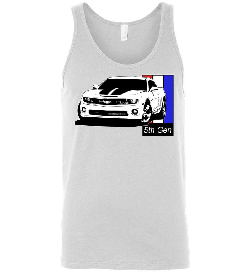 5th Gen Camaro Tank Top | Camaro T-Shirt | Aggressive Thread Auto Apparel