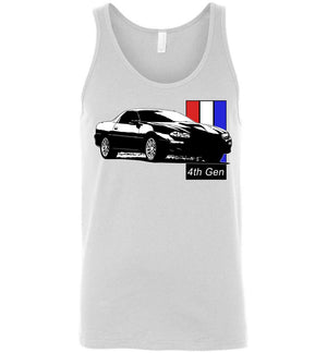4th gen Chevy Camaro Tank Top | Camaro Shirt | Aggressive Thread Auto Apparel