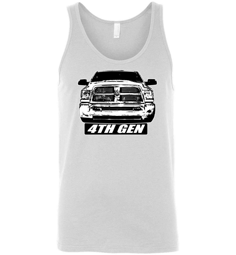 4TH Gen Ram Tank Top T-Shirt | Cummins Shirt | Dodge Shirt | Hemi Shirt | Mopar Shirt