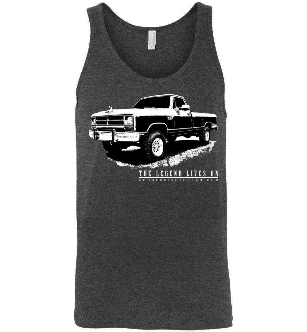Tank Top for owners of 1981-1993 First Gen Dodge Ram trucks. | Aggressive Thread Diesel Truck Designs