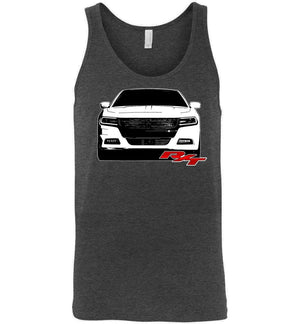 15-19 Dodge Charger R/T Tank Top | Mopar Shirt | Aggressive Thread Muscle Car Apparel
