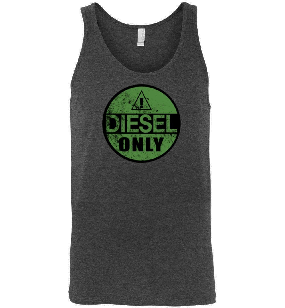 Diesel Truck T-Shirt | Duramax Tank Top Shirt | Cummins Shirt | Powerstroke Tank Top Shirt | Aggressive Thread Truck Apparel