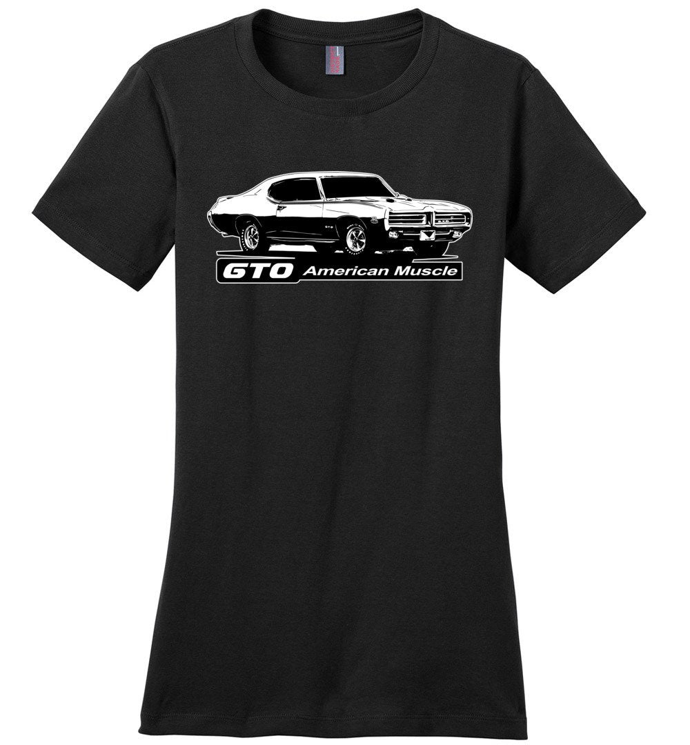 67 GTO T-Shirt - American Muscle - Womens