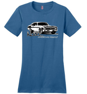 Chevy Nova T-Shirt | 1968-1972 Nova SS | Aggressive thread Muscle Car Apparel