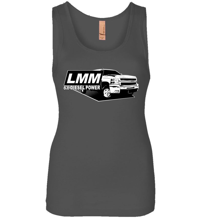 LMM Duramax Diesel Power Womens Tank Top From Aggressive Thread